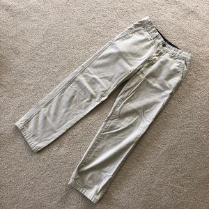 J. Khaki boys khaki pants/ 12